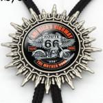 """Галстук Боло """"Route 66"""""""