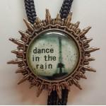 """Галстук Боло """"Танец под дождем"""""""