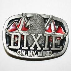 """Байкерская пряжка """"Dixie"""""""