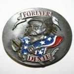 """Пряжка на ремень """"Forever Dixie"""""""