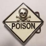 "Пряжка на ремень ""Poison"""