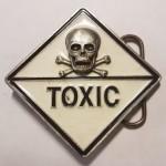 "Пряжка на ремень ""Toxic"""