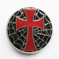 Пряжка «Spiderweb Cross» (эмаль)