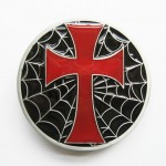 Пряжка «Spiderweb Cross» (эмаль)