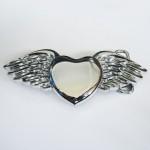Пряжка «Сердце Ангела» (хром)