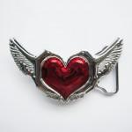 """Пряжка """"Сердце ангела"""""""
