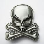 Пряжка «Skull Bones»