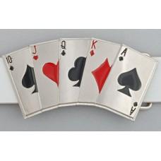 """Пряжка на ремень """"Покер"""""""