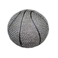 """Пряжка на ремень """"Баскетбольный мяч"""""""