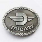 """Пряжка на ремень """"Ducati"""""""