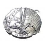 """Пряжка на ремень из серии """"Штаты Конфедерации"""" """"Флорида"""""""