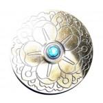 Пряжка на ремень с цветами